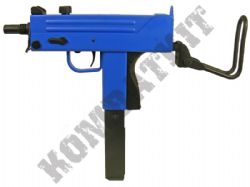 G11 Metal Gas Blowback Airsoft Machine Gun Black and Blue
